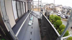 屋根カバー工法の下屋根