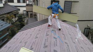 屋根工事中 スタンビー